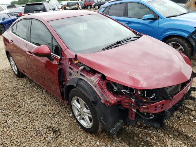 Salvage cars for sale from Copart Bridgeton, MO: 2018 Chevrolet Cruze LT