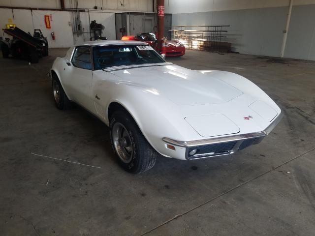 Vehiculos salvage en venta de Copart Dyer, IN: 1969 Chevrolet Corvette 3