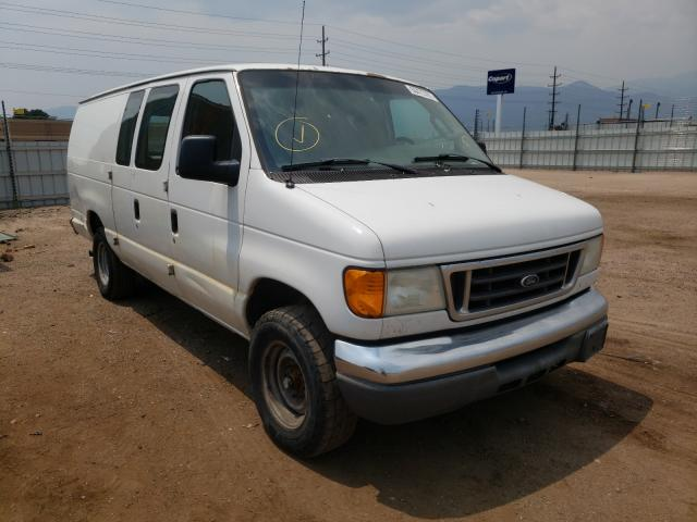 Salvage cars for sale from Copart Colorado Springs, CO: 2007 Ford Econoline