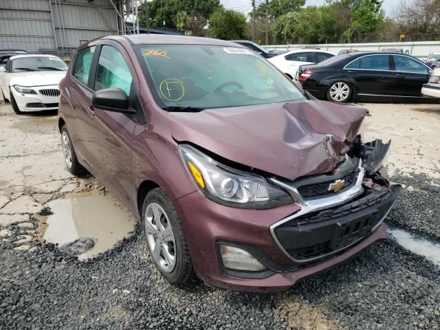Salvage cars for sale from Copart Corpus Christi, TX: 2020 Chevrolet Spark LS