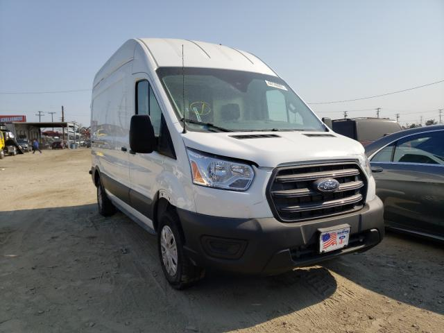 Salvage cars for sale from Copart Los Angeles, CA: 2020 Ford Transit T