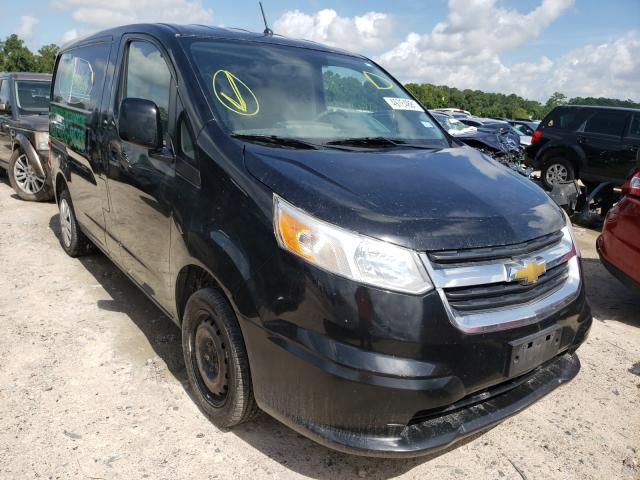 Salvage trucks for sale at Houston, TX auction: 2015 Chevrolet City Expre