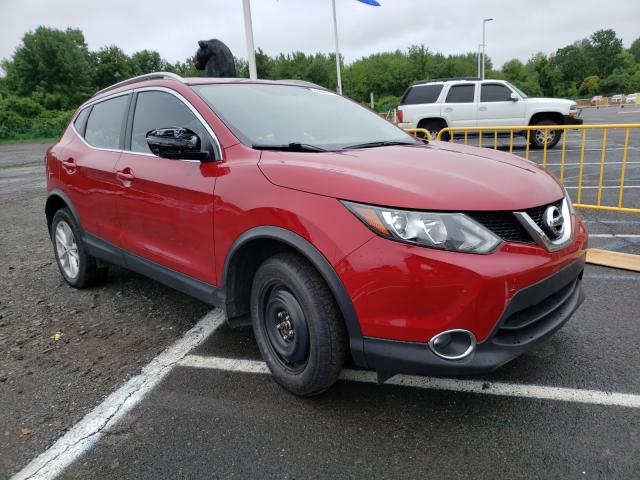 Salvage cars for sale at East Granby, CT auction: 2017 Nissan Rogue Sport