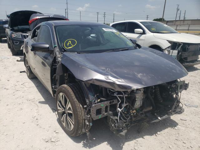 Salvage cars for sale from Copart Haslet, TX: 2018 Honda Civic EXL