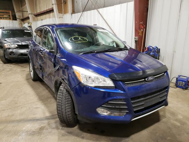 Salvage cars for sale from Copart Anchorage, AK: 2013 Ford Escape SE