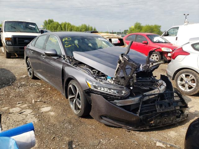 Vehiculos salvage en venta de Copart Indianapolis, IN: 2018 Honda Accord Sport