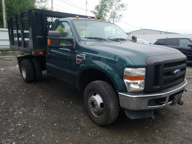 Salvage cars for sale from Copart North Billerica, MA: 2008 Ford F350 Super