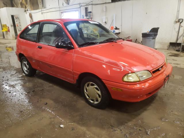 Salvage cars for sale from Copart Casper, WY: 1995 Ford Aspire