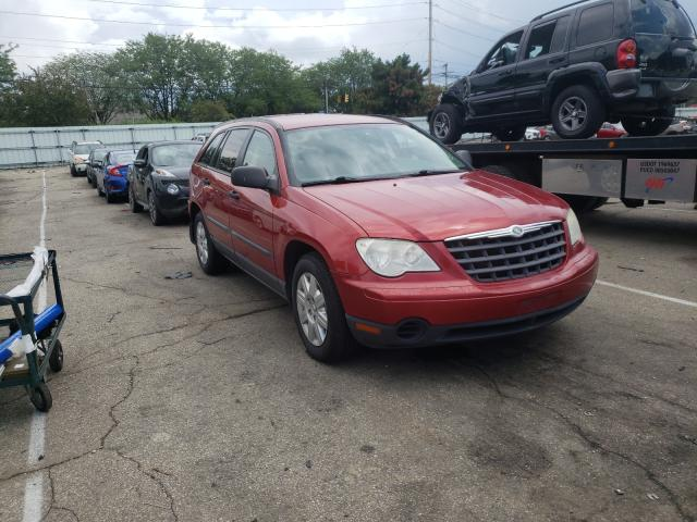 Salvage cars for sale from Copart Moraine, OH: 2007 Chrysler Pacifica