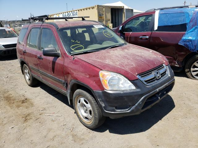 Salvage cars for sale from Copart San Martin, CA: 2002 Honda CR-V LX