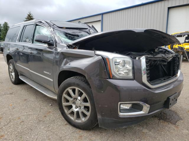 Salvage cars for sale from Copart Lansing, MI: 2015 GMC Yukon XL D