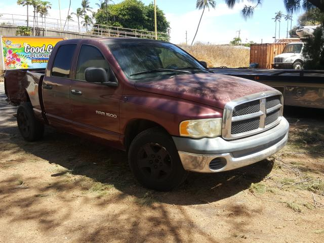 Salvage cars for sale from Copart Kapolei, HI: 2003 Dodge RAM 1500 S