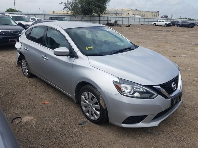Salvage cars for sale from Copart Mercedes, TX: 2016 Nissan Sentra S