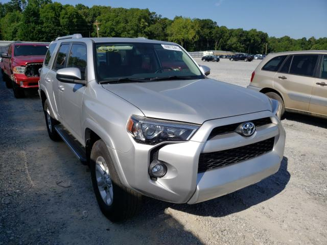Salvage cars for sale from Copart Gastonia, NC: 2018 Toyota 4runner SR