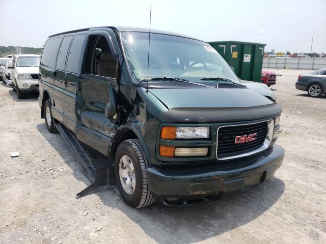 Salvage trucks for sale at Alorton, IL auction: 2001 GMC Savana G15
