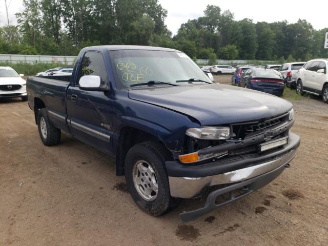 Salvage cars for sale from Copart Davison, MI: 2002 Chevrolet Silverado
