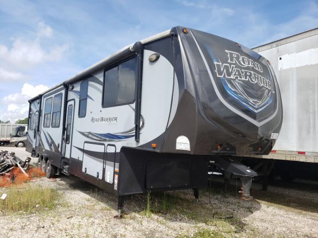 Heartland Roadwarrio salvage cars for sale: 2015 Heartland Roadwarrio