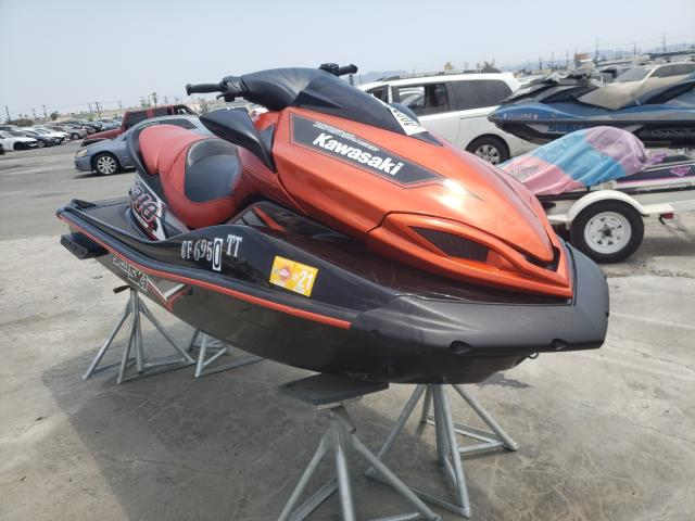 Salvage cars for sale from Copart Sun Valley, CA: 2015 Kawasaki Ultra 310R