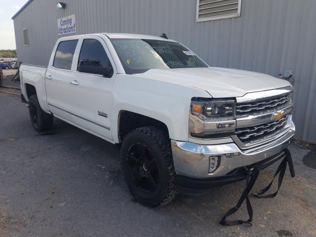 Vehiculos salvage en venta de Copart Mercedes, TX: 2018 Chevrolet Silverado