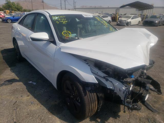 Salvage cars for sale from Copart Colton, CA: 2021 Hyundai Elantra SE