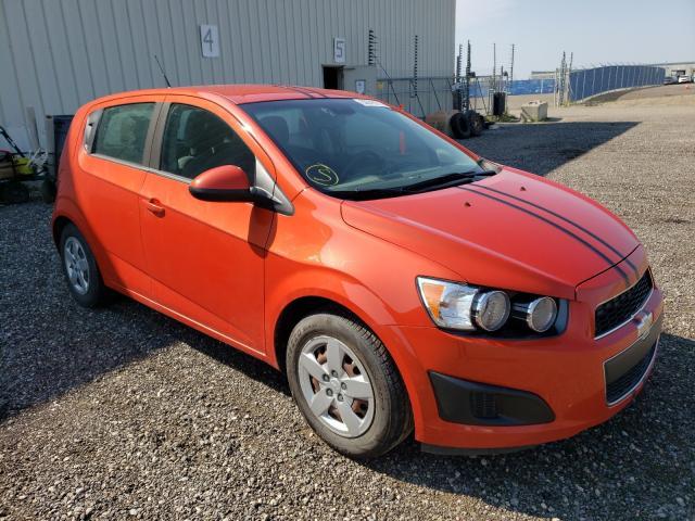 Vehiculos salvage en venta de Copart Rocky View County, AB: 2013 Chevrolet Sonic LS