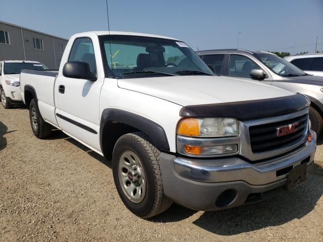 Salvage cars for sale from Copart Nisku, AB: 2006 GMC New Sierra