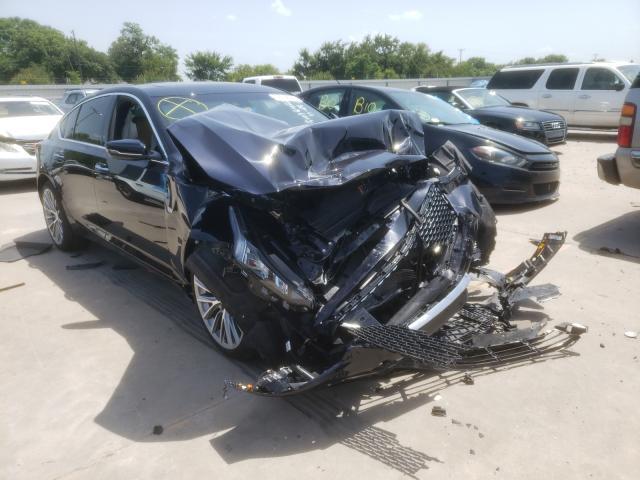 Vehiculos salvage en venta de Copart Wilmer, TX: 2021 Cadillac CT5 Premium