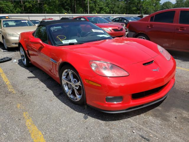 Salvage cars for sale at Eight Mile, AL auction: 2010 Chevrolet Corvette G