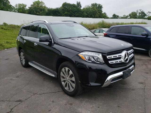 Salvage cars for sale from Copart Marlboro, NY: 2017 Mercedes-Benz GLS 450 4M