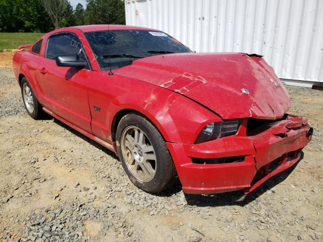 Salvage cars for sale from Copart Concord, NC: 2006 Ford Mustang GT