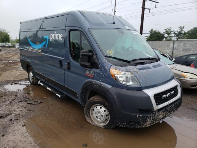 Salvage cars for sale from Copart Chalfont, PA: 2020 Dodge RAM Promaster