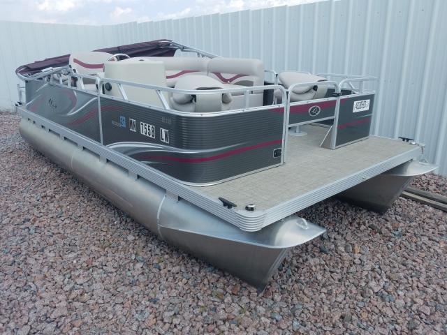 Salvage cars for sale from Copart Avon, MN: 2019 Powq Boat
