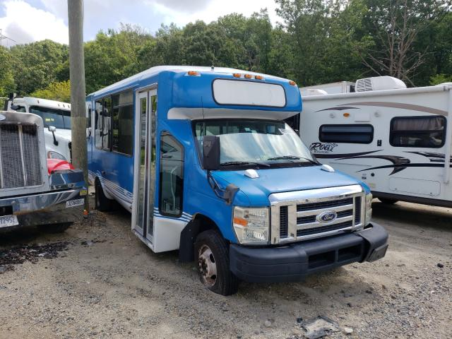 Salvage cars for sale from Copart Glassboro, NJ: 2010 Ford Econoline