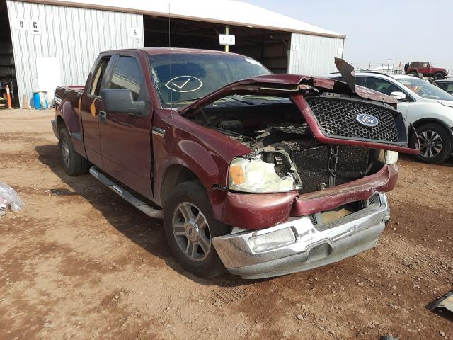 Salvage cars for sale from Copart Phoenix, AZ: 2005 Ford F150
