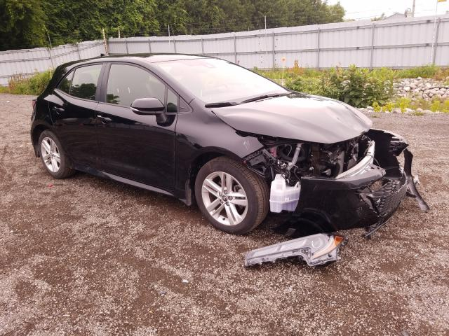 Salvage cars for sale from Copart Ontario Auction, ON: 2020 Toyota Corolla SE
