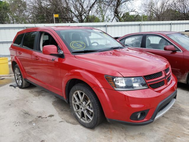 Salvage cars for sale from Copart Corpus Christi, TX: 2018 Dodge Journey GT