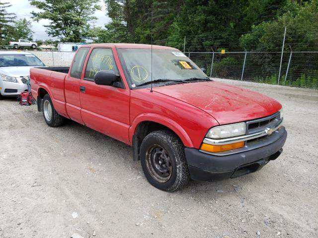 Salvage cars for sale from Copart Northfield, OH: 2003 Chevrolet S Truck S1