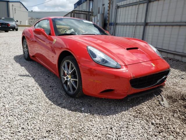 Ferrari California salvage cars for sale: 2014 Ferrari California