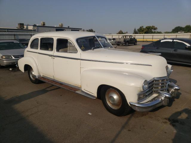 Salvage cars for sale from Copart Bakersfield, CA: 1947 Cadillac Series 75