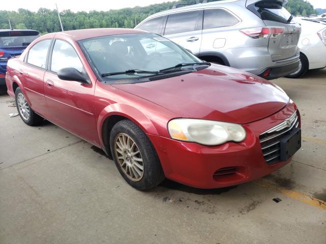 Chrysler Sebring salvage cars for sale: 2005 Chrysler Sebring