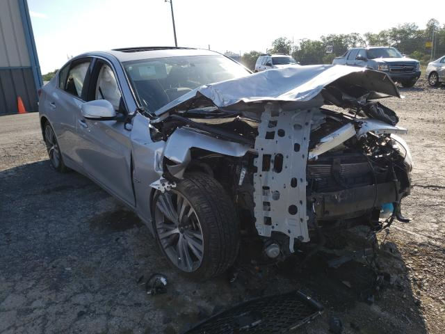 Infiniti Q50 salvage cars for sale: 2018 Infiniti Q50