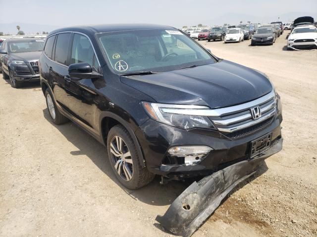 Honda Vehiculos salvage en venta: 2018 Honda Pilot EX