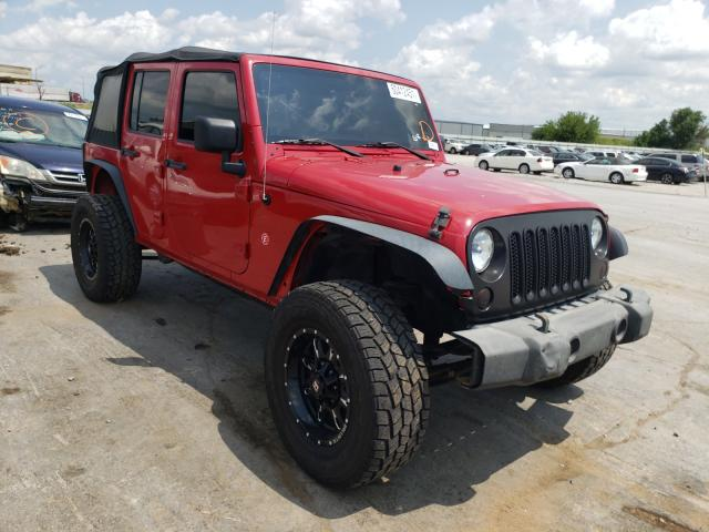Salvage cars for sale from Copart Tulsa, OK: 2009 Jeep Wrangler U