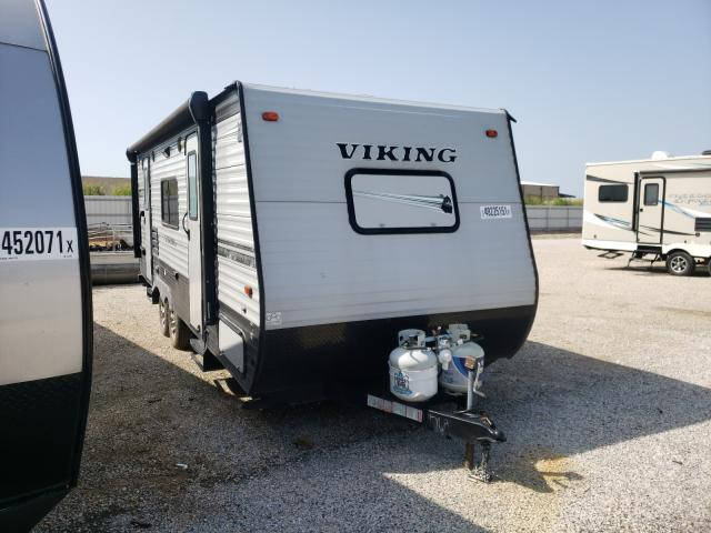 Salvage cars for sale from Copart Wilmer, TX: 2019 Viking Trailer