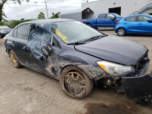 Salvage cars for sale at Montreal Est, QC auction: 2013 Subaru Impreza