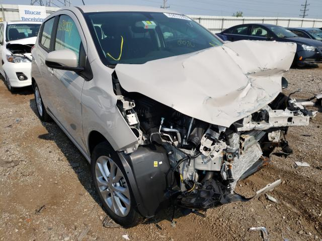 Salvage cars for sale from Copart Elgin, IL: 2021 Chevrolet Spark 1LT