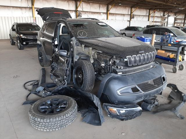 Salvage cars for sale from Copart Phoenix, AZ: 2019 Jeep Cherokee T