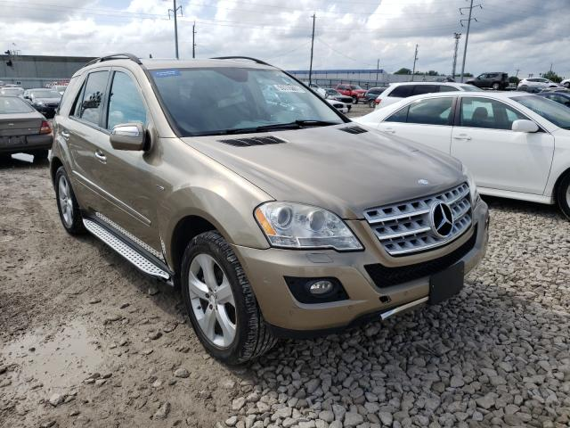 Salvage cars for sale from Copart Columbus, OH: 2009 Mercedes-Benz ML