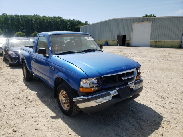 Salvage cars for sale from Copart Hampton, VA: 1998 Ford Ranger