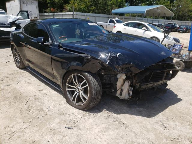 Salvage cars for sale from Copart Midway, FL: 2017 Ford Mustang